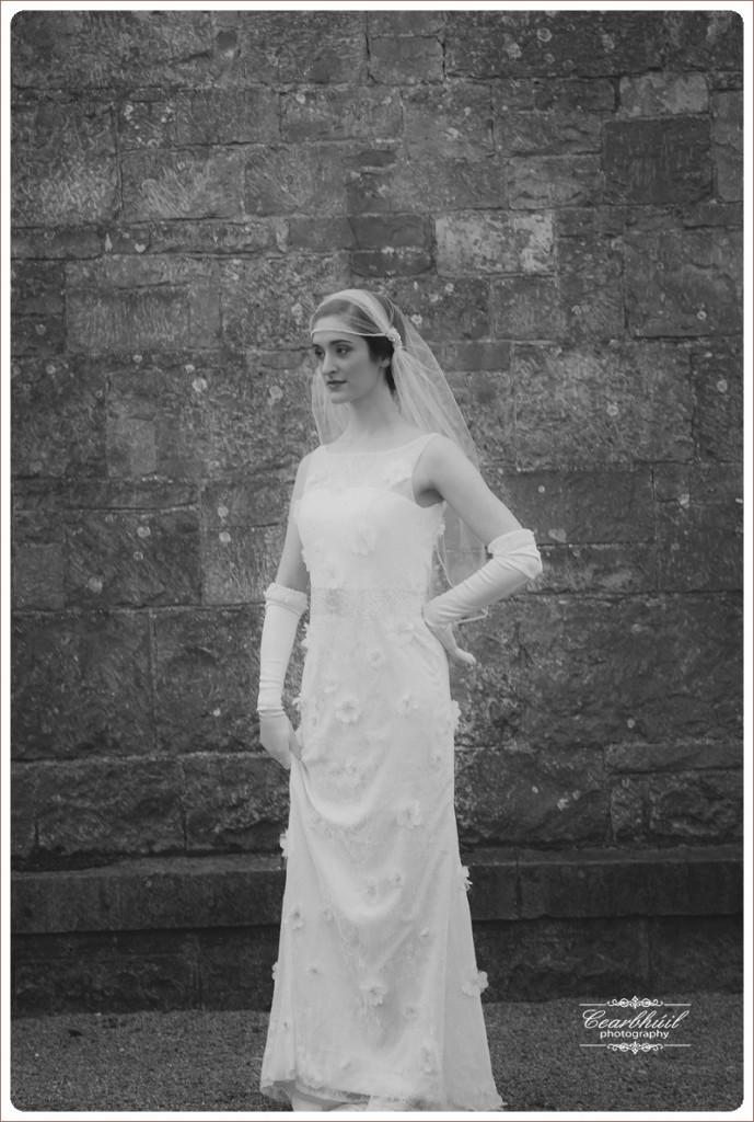 Vintage 1916 Style Wedding Dress