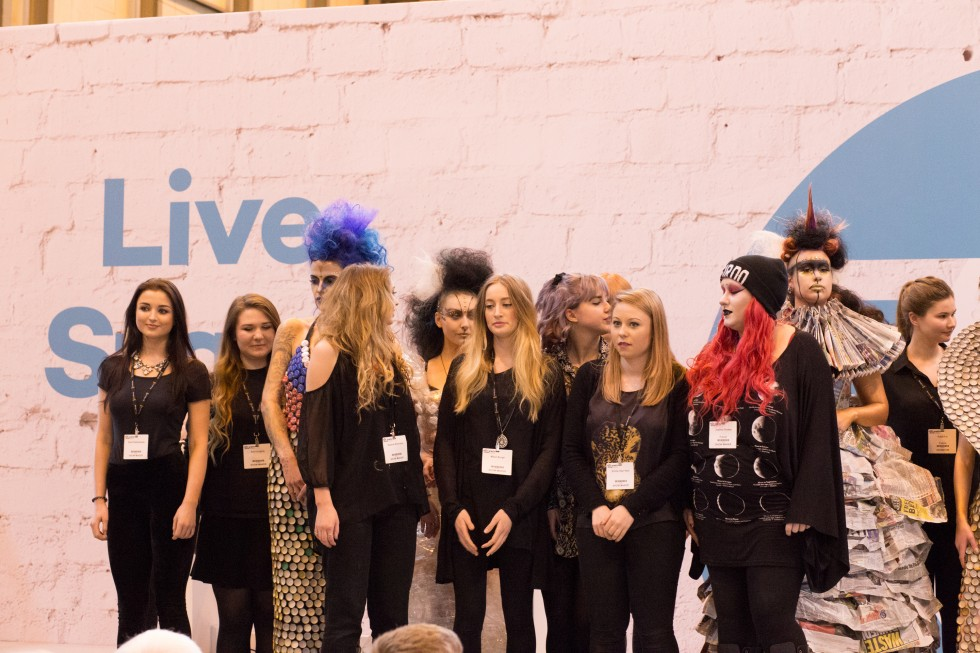 Fashion hairdressers, stylists and Makeup artists at Photography Show