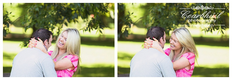 Sunny day engagement Tipperary