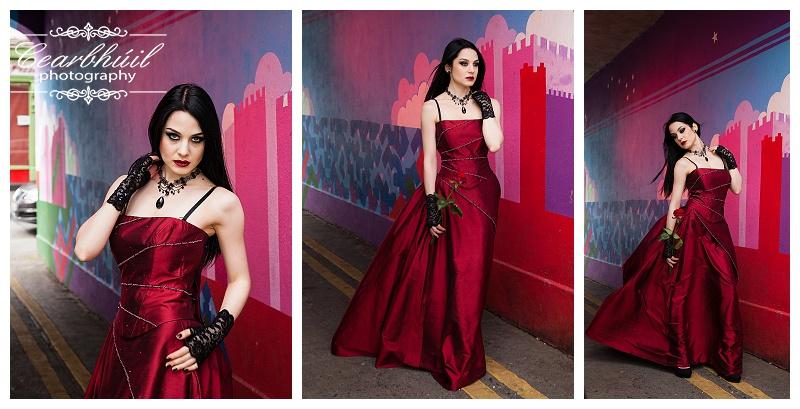 Gotic redc dreess