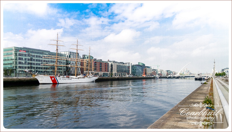 US Coast Guard Tall Ship Eagle in Dublin