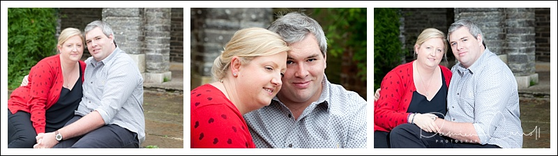 Couple photo at Heywood Gardens in Co Laois