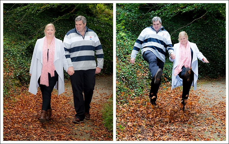 Couple photo at Heywood Gardens Laois