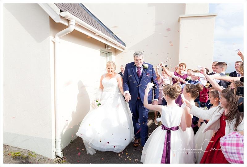Killasmeestia Church with Wedding Car