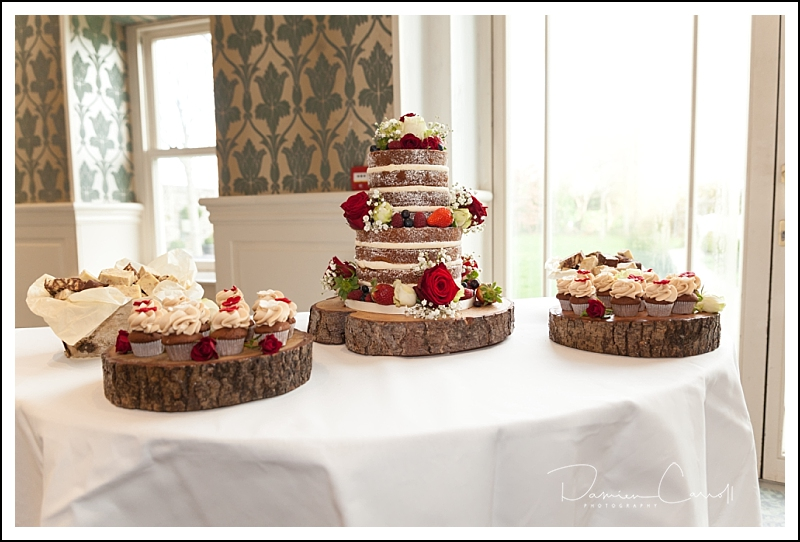 Wedding Cake at the Stephouse Hotel